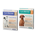 Durvet Triple Wormer Small Dog 2 pk
