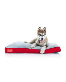 "Brindle Shred Foam Bed 22"" Red"