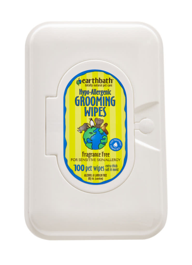 Earthbath Hypo Grooming Wipes 100ct