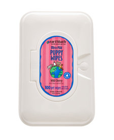 Earthbath Puppy Wipes 100ct