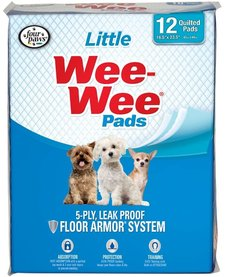 Four Paws Wee Wee Pads Little 12 pk