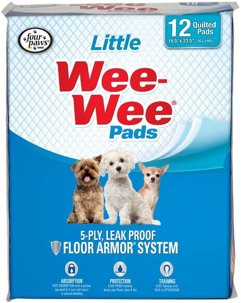 Four Paws Products LTD Four Paws Wee Wee Pads Little 12 pk