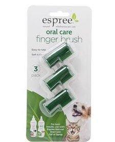 Espree Oral Care Finger Brush 3 pk