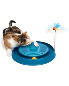 Catit Play Circuit Ball w/ Catnip Massage