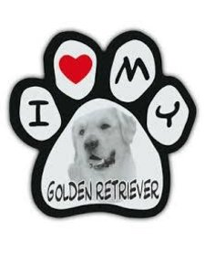 Paw Magnet Golden Retriever