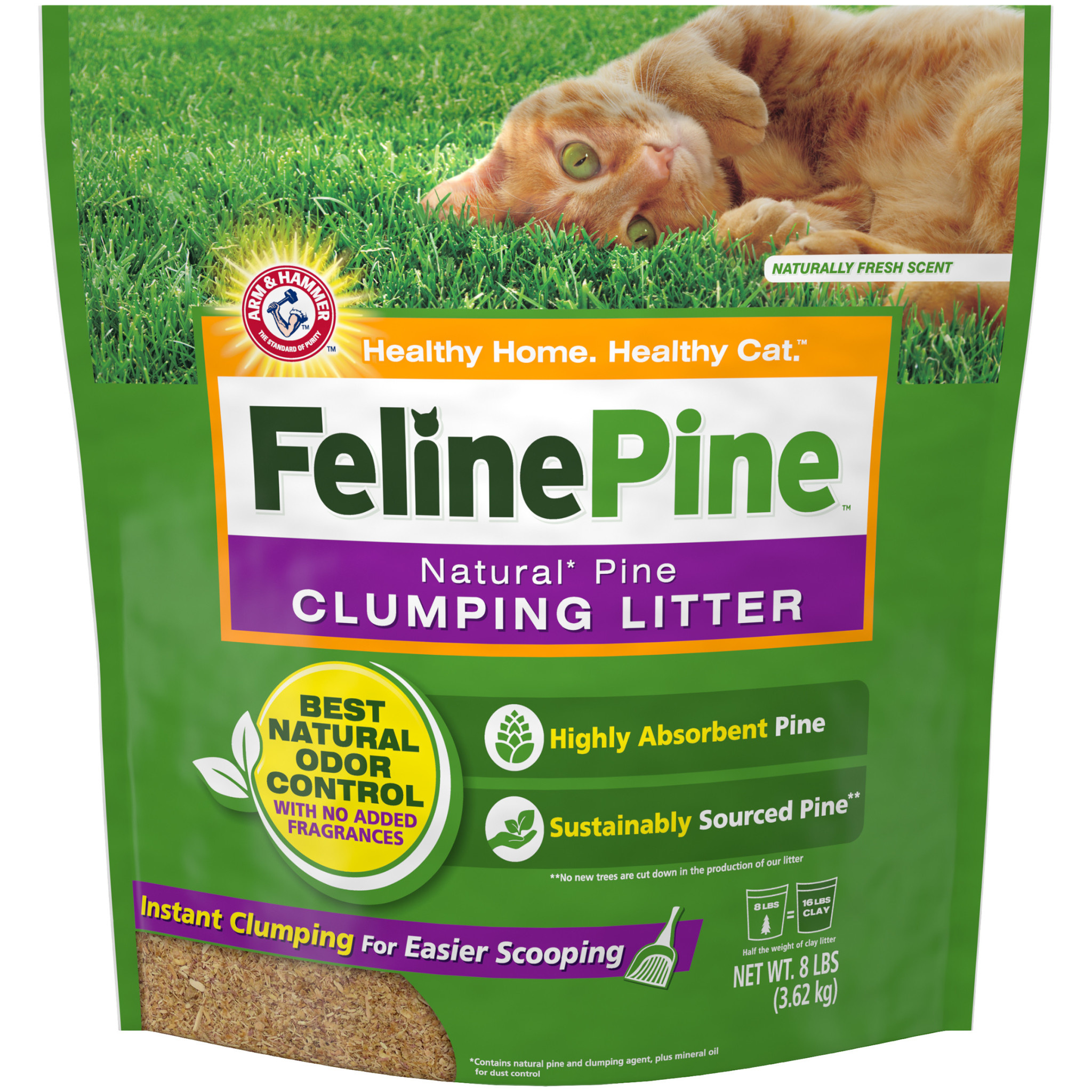 A&H Feline Pine Litter 8 lb