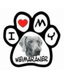 Paw Magnet Weimaraner