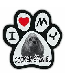 Paw Magnets Cocker Spaniel