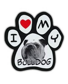 Paw Magnets Bulldog