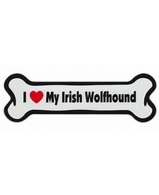 I Love My Irish Wolfhound Magnet