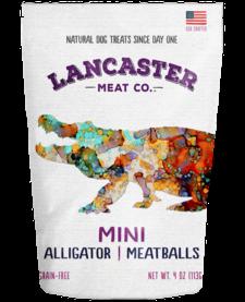 Lancaster Meat Co. Meatballs Alligator 4 oz