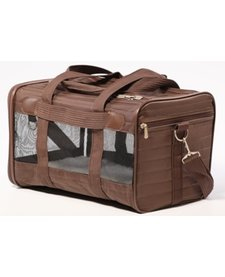 Sherpa Deluxe Carrier Brown SM