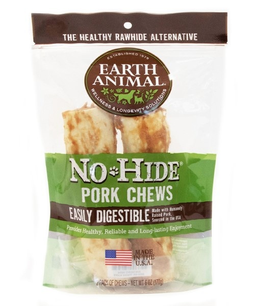 "Earth Animal Earth Animal No Hide Pork 7"" 2 pk"