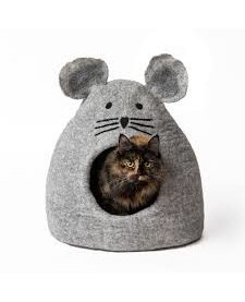 Karma Cat Cave - Gray Mouse