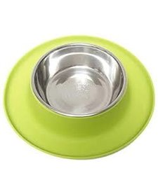 Messy Mutts Single Feeder Green XL