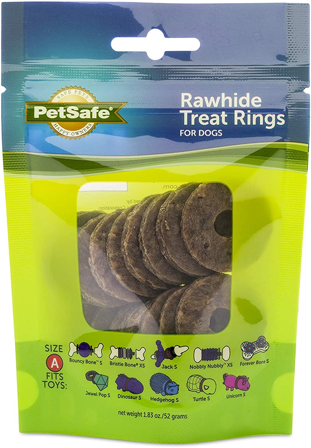 Petsafe- General Busy Buddy SM Rawhide Rings