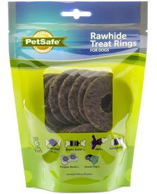 Busy Buddy Rawhide Rings Size C