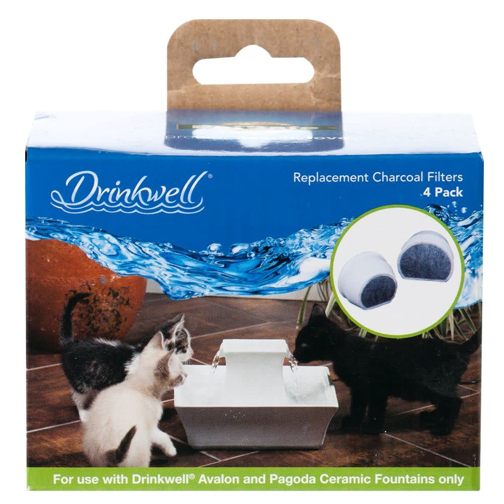 Petsafe- General Drinkwell Charcoal Filters Pagoda Avalon, 4ct
