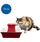 Petsafe- General Drinkwell Pagoda Fountain Red