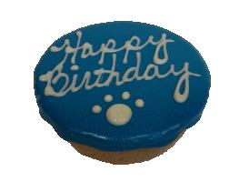 Preppy Puppy Birthday PB Cake Blue
