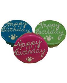 Preppy Puppy Birthday PB Cake Green