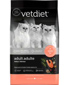 VetDiet Cat Indoor Salmon 15 lb