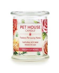 Pet House Fresh Cut Roses Candle