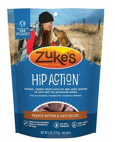 Zuke's Hip Action Peanut Butter 6 oz