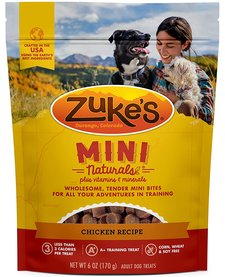 Zuke's Mini Naturals Chicken 6 oz