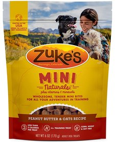 Zuke's Mini Naturals Peanut Butter 6 oz