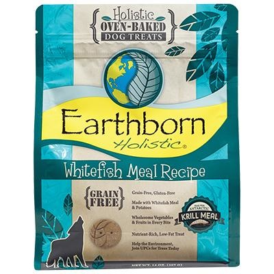 Earthborn Earthborn Whitefish GF Biscuits 14oz