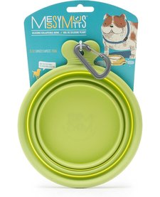 Messy Mutts Collapsible Bowl Green MD