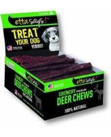 """Etta Says! Crunchy Deer Chew 4"""""""