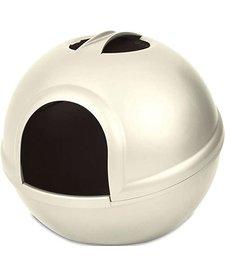 Petmate Booda Dome Litter Pan Pearl