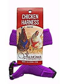 Valhoma Chicken Harness Purple XS