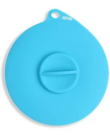 Dexas Silicone Suction Lid Blue