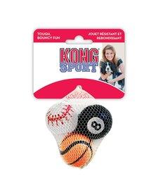 Kong Small Sport Balls 3ct
