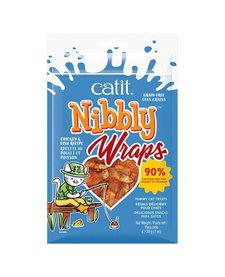 Catit Wraps Chicken & Fish 1 oz