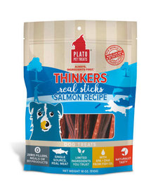 Plato Thinkers Salmon Stix 18 oz