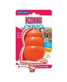 Kong Large Orange Aqua