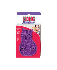 Kong ZoomGroom Rubber Brush