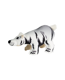 Happy Tails Critter Canvas Polar Bear