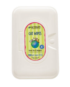 Earthbath Green Tea Cat Wipes 100 ct