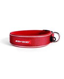 EzyDog Neoprene Wide Collar Red 2XL