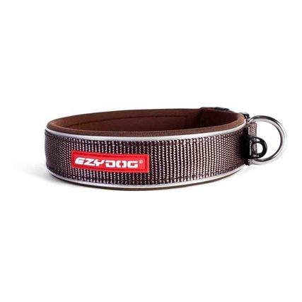 EzyDog EzyDog Neoprene Collar Brown XL
