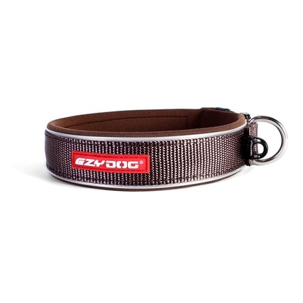 EzyDog EzyDog Neoprene Collar Brown SM