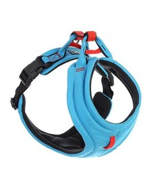 Gooby Lite Gear Harness Blue MD