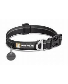 RuffWear Hoopie Collar Black LG