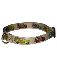 Yellow Dog - Cat Collar - Woodies
