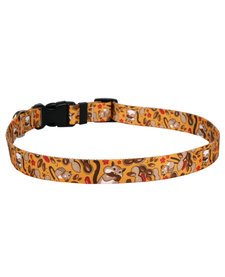 Yellow Dog - Cat Collar - Chipmunks